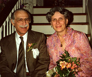 Sonja and Lorenzo Calabi