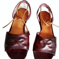 Malika.Green.Sandals