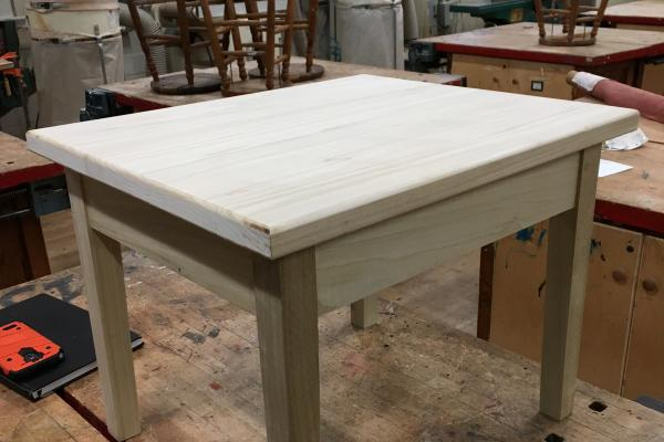 Intermediate Woodworking Small Table 2w20 The Eliot School Of Fine Applied Arts