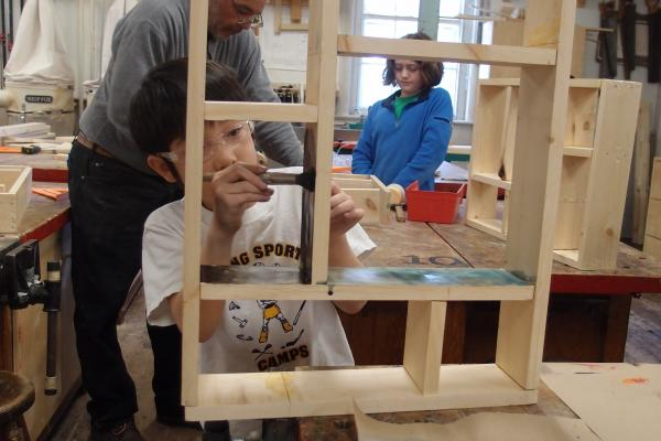 Kids Advanced Woodworking Ages 10 14 1w20 The Eliot School Of Fine Applied Arts